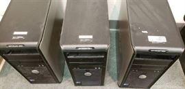 Lot of 3 Dell Optiplex 380 Desktop Computers  Unk ...
