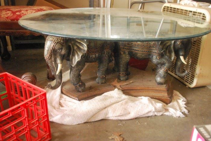 Elephant Base Coffee Table