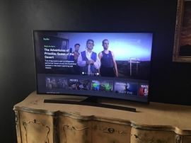 Samsung 48 Inch Curved Screen Smart TV