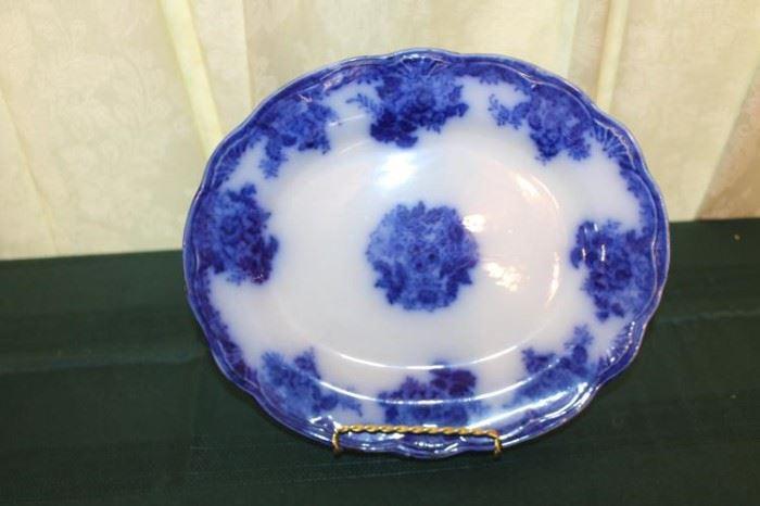 Waldorf Flow Blue Plate