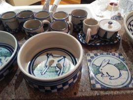 More Debbie Dean pottery