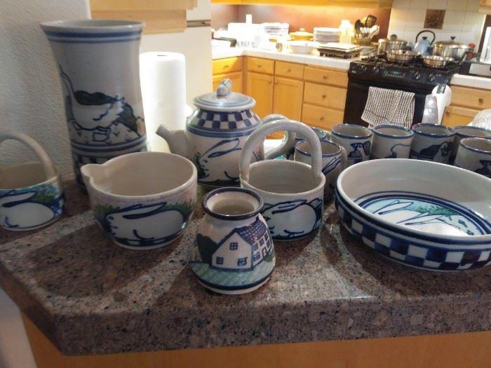 Debbie Dean pottery