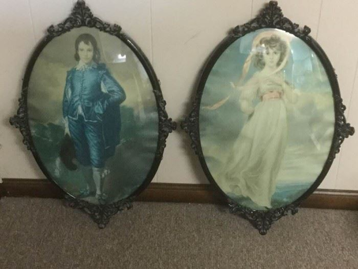 Lady and Gent Framed Art