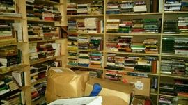 More books!!    This is essentially a bookstore liquidation,  Lots of bargains.