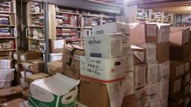 Lots of boxes and shelves.  Lots of hidden treasures!!