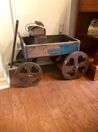 Antique Pepsi wagon