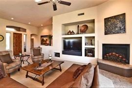 Living Room Furnishings & Home Decor (TV not included)