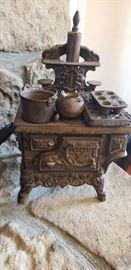 Miniature Cast Iron Stove
