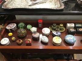 Collection of small Boxes