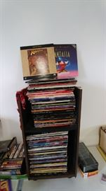 Over 100 laser discs - premium titles. We even have a laser disc player for sale.