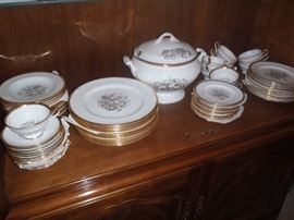 Spode Chatham china set for 12
