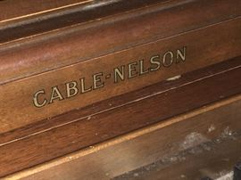 View of Piano CABLE-NELSON