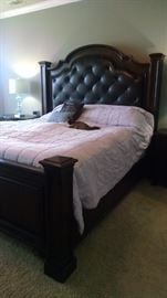 King Size bedroom set (Kitty not included)