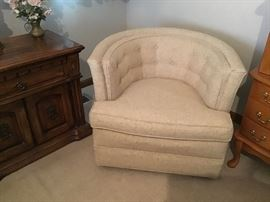 Nice comfy swivel barrel chairs,have 2