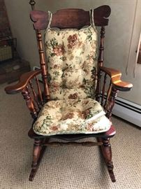 Antique rocking chair. Great condition.