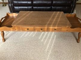 Coffee table with drawer for storage.  Excellent condition.