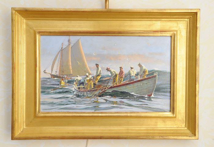 Donald Demers original painting