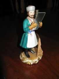19c Russian Porcelain Figure (unsigned) attributed to Gardner
