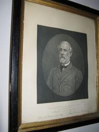 1883 Robert E. Lee Memorial Association Engraving