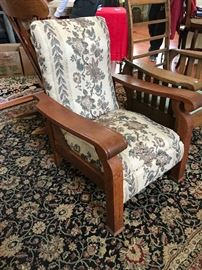 Antique Morris recliner chair
