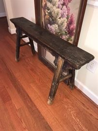 Fantastic antique bench.  Very strong