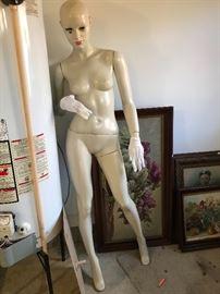 Great female mannequin