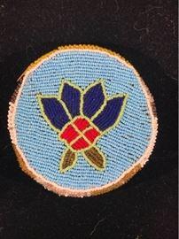 Cree Nation Hand Beaded Purse Vintage