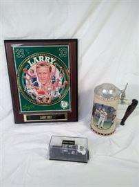 Larry bird, Carl Ripkin Jr, Nascar collectibles