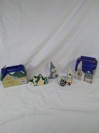 Dept 56 Snow Village classic ornament series, Nantucket , steepled Church, snowman figurine https://ctbids.com/#!/description/share/121957