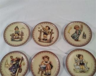 lot of 6 m j Hummel by Goebel mini plates https://ctbids.com/#!/description/share/121956
