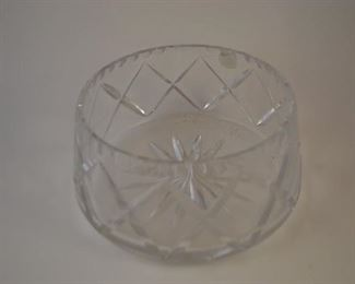 Decorative Cut Glass Bowl