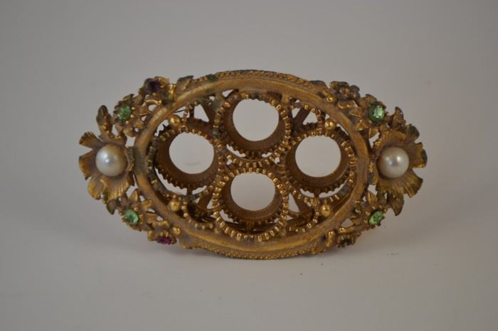 Vintage Desk Accessory with Ornate Embellishments