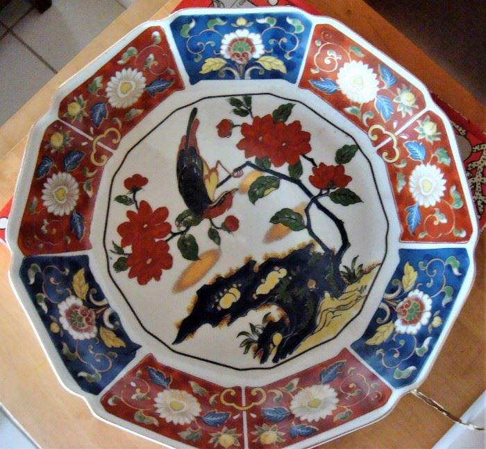 Chinese large serving dish