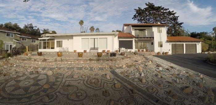 Mariette's Home overlooking the Pacific Ocean.