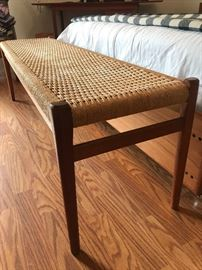 Awesome mid century modern bench!