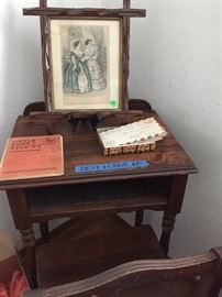 This Writing  Desk and Chair is from turn of century.