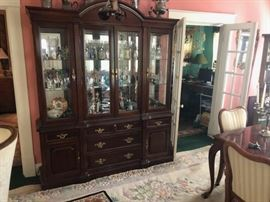 Queen Anne China Cabinet