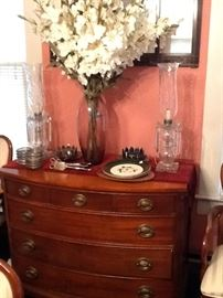 Queen Anne Four Drawer Buffet