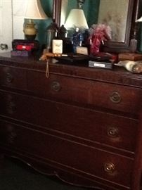 Antique Dresser w/ Mirror