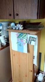 Nice Wood Storage Cabinet