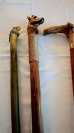 Closer Pic of  Canes, Handcrafted