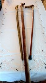Hand Carved Canes
