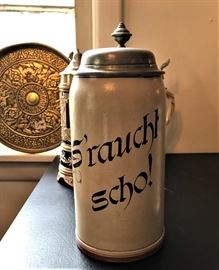 Smoked beer stein