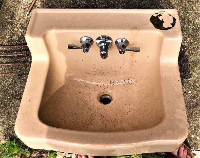 midcentury sink  Never installed