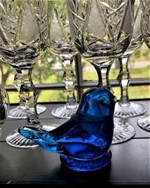 beautiful crystal pieces