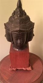 Mounted three head Buda