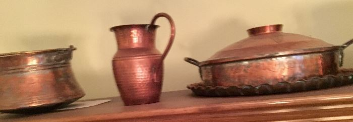 Antique copper, collected after WWll while stationed in Europe.