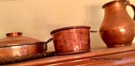 Antique European copper