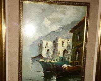 Original signed painting