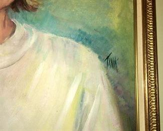 Artist signature Swink